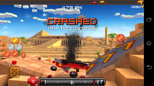 Авария - Blocky Roads для Android