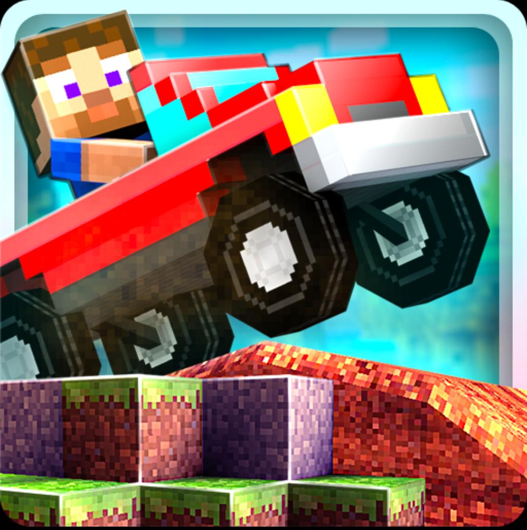 Иконка - Blocky Roads для Android