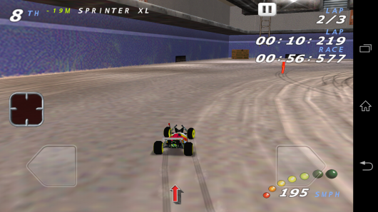 Заезд - RE-VOLT Classic-3D Racing для Android