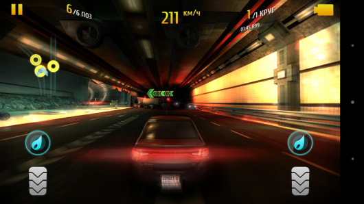 В тоннеле  -  Asphalt 8: Airborne для Android