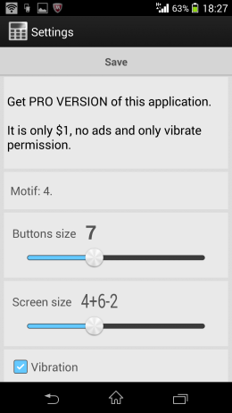 Внешний вид - Calculator + Widget 21 themes для Android