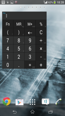 Виджет калькулятор - Calculator + Widget 21 themes  для Android