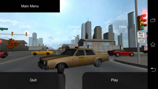 Меню - Duty Driver Taxi для Android