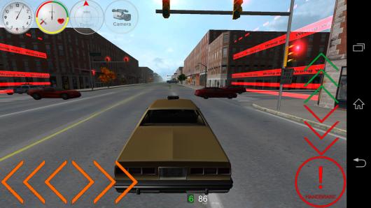 Управление - Duty Driver Taxi для Android
