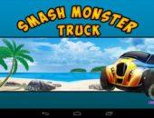 Трехмерные гонки Smash Monster Truck 3D для Android