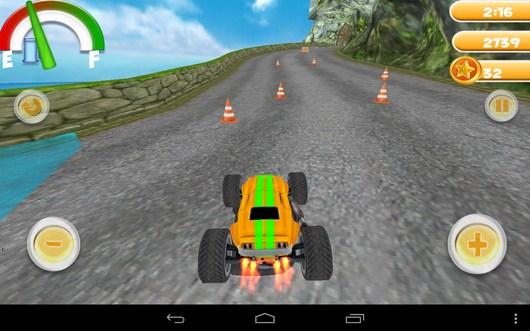 Выезд на трассу - Smash Monster Truck 3D для Android