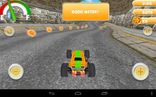 Гонка в ущелье - Smash Monster Truck 3D для Android