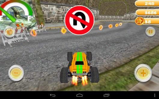НЕверное направление езды - Smash Monster Truck 3D для Android