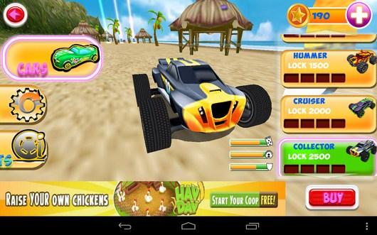 Выбор машины - Smash Monster Truck 3D для Android