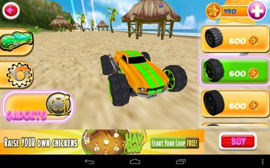 Улучшение гоночного авто - Smash Monster Truck 3D для Android