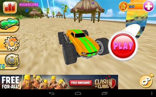Меню игры - Smash Monster Truck 3D для Android