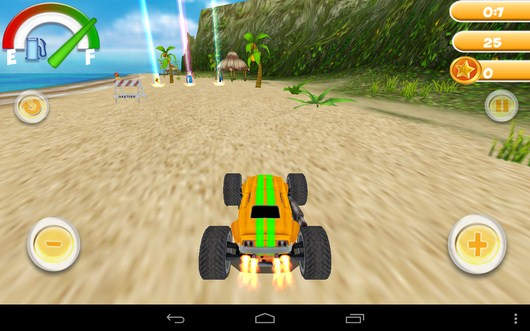 Впереди бонусы - Smash Monster Truck 3D для Android