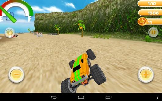Опасный занос - Smash Monster Truck 3D для Android
