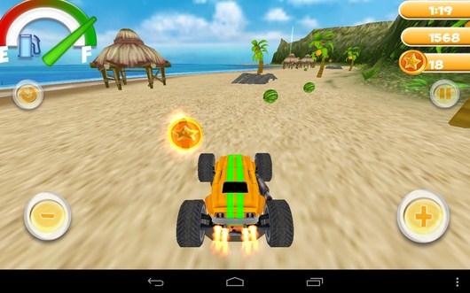Получаем монету - Smash Monster Truck 3D для Android