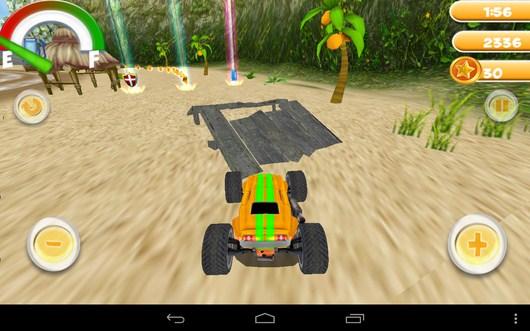 Едим на трамплин - Smash Monster Truck 3D для Android