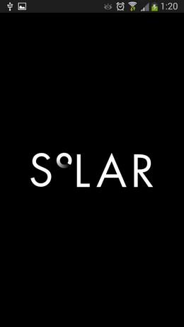 Прогноз погоды с приложением Solar для Android