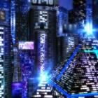 Space City 3D – мегаполис из будущего