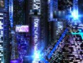 Футуристические обои Space City 3D для Android