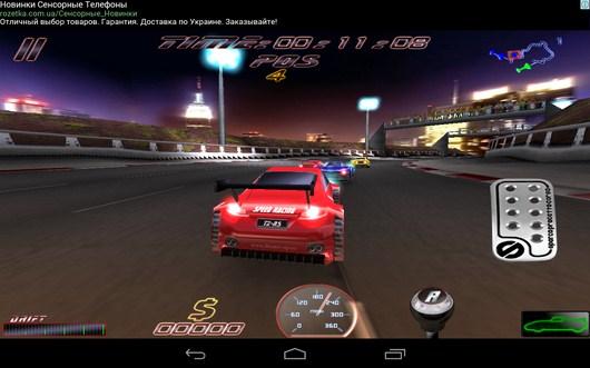Доганяем соперника - Speed Racing Ultimate Free для Android