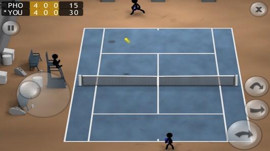 Ваш удар - Stickman Tennis для Android