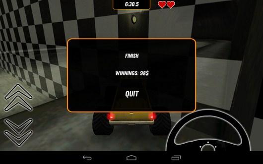 Удачно финишировали - Toy Truck Rally 2 для Android