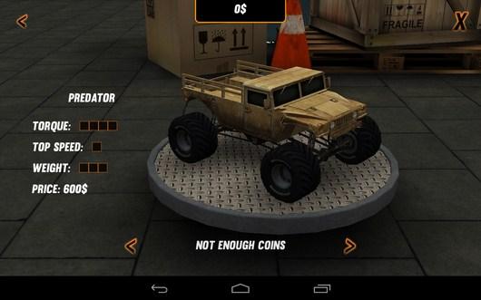 Выбор машины - Toy Truck Rally 2 для Android