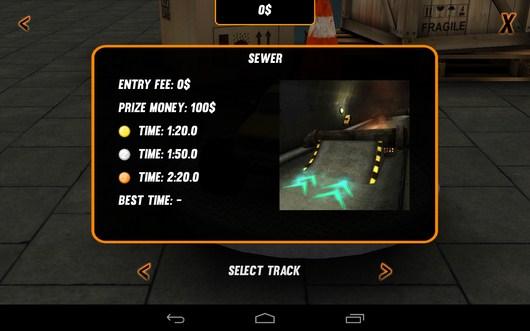 Выбор трассы - Toy Truck Rally 2 для Android