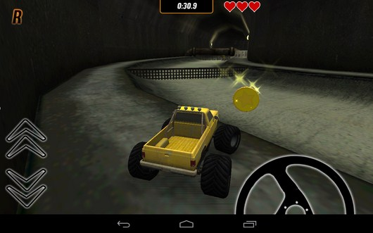 Собираем монеты - Toy Truck Rally 2 для Android