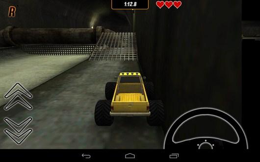 Первая преграда - Toy Truck Rally 2 для Android