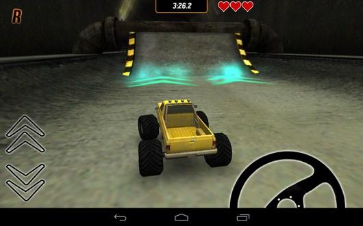 Трамплин с ускорением - Toy Truck Rally 2 для Android