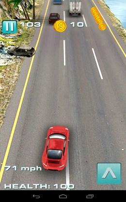 Начало езды - Traffic Rush для Android