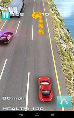 Собираем монеты - Traffic Rush для Android
