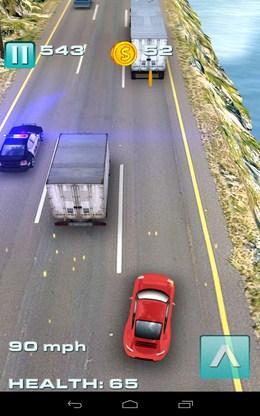 Быстрый маневр - Traffic Rush для Android