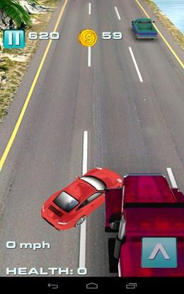 Нелепое столкновение - Traffic Rush для Android