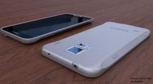 Металлический Galaxy S5