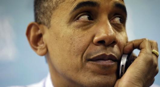 Сотовый Обамы