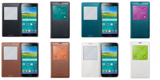 Чехол с вырезом для Galaxy S5