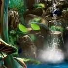3D Водопад – динамические обои