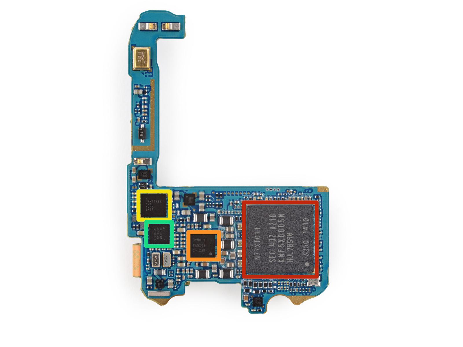 Процессор Galaxy Gear 2