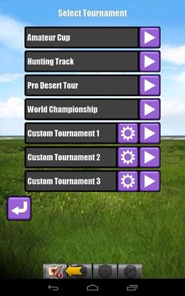 Выбор турнира - Archery для Android