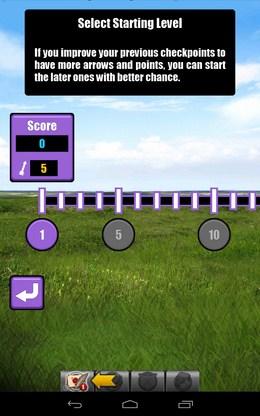 Выбор миссии в одиночном режиме - Archery для Android