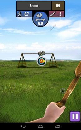 Движущаяся мишень - Archery для Android