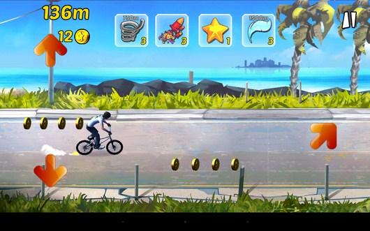 Объезд преград - BMX Ride n Run для Android