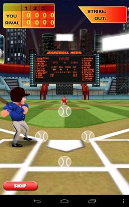 Принимаем подачу - Baseball Hero для Android