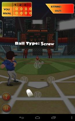 Краткое обучение - Baseball Hero для Android