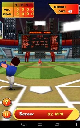 Отбиваем подачу - Baseball Hero для Android