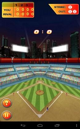 Полет мяча - Baseball Hero для Android