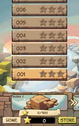 Выбор уровня - Caveboy Escape для Android
