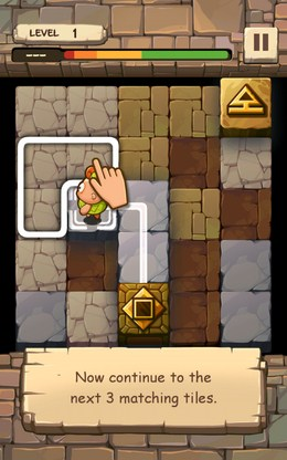 Первые шаги - Caveboy Escape для Android