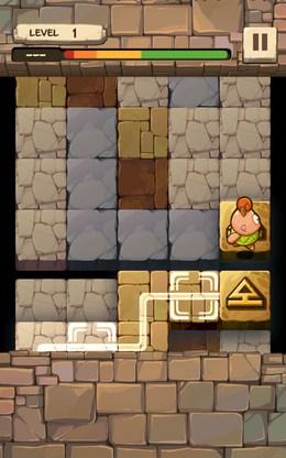 Поиск маршрута - Caveboy Escape для Android